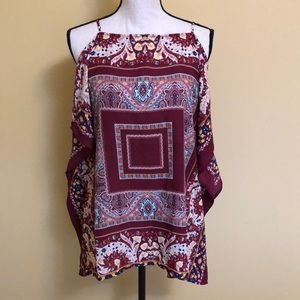 Monteau red top size L